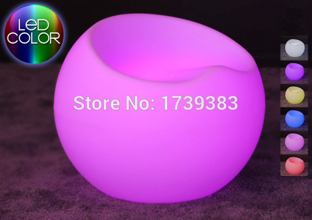 LED Lighting Furniture. Led Lighted Chair,Stool - LED Apple 02.jpg