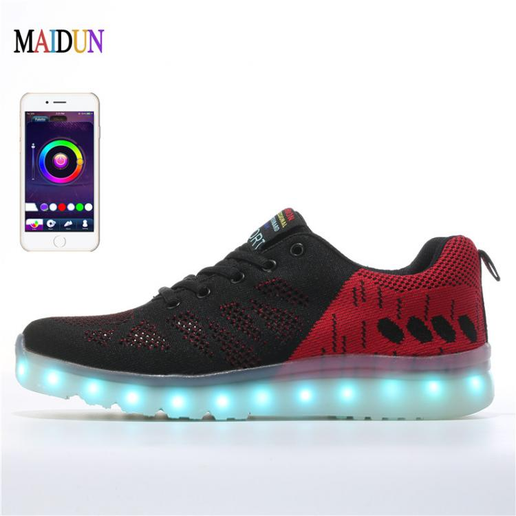 Led Sneakers & Light up Shoes Led Sneakers Official - light shoes boy ×  light shoes girl × glowing sneakers design