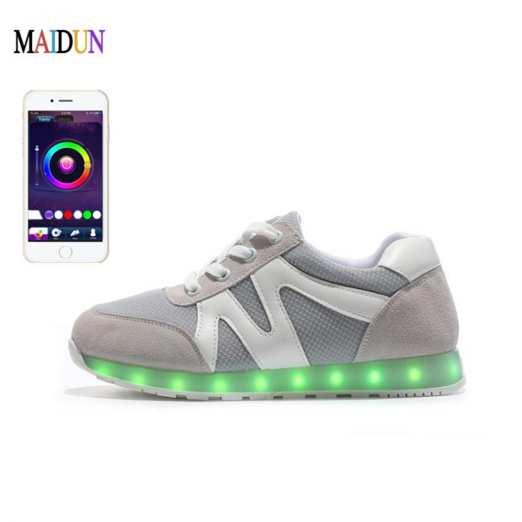 glowing sneakers × app controlled led shoes × led shoes aliexpress ×  led shoes shop