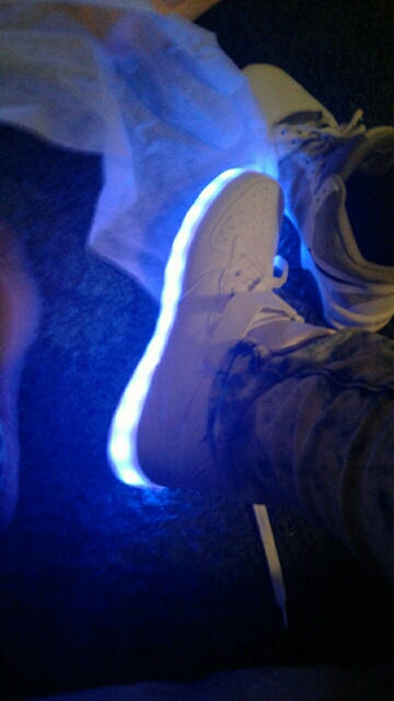 Light Up LED Shoes - led shoes kit ×  led shoes kenya