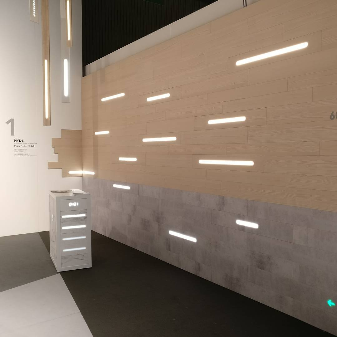 LED illuminated Walls • LED Light Wall. LED Strip Wall ...