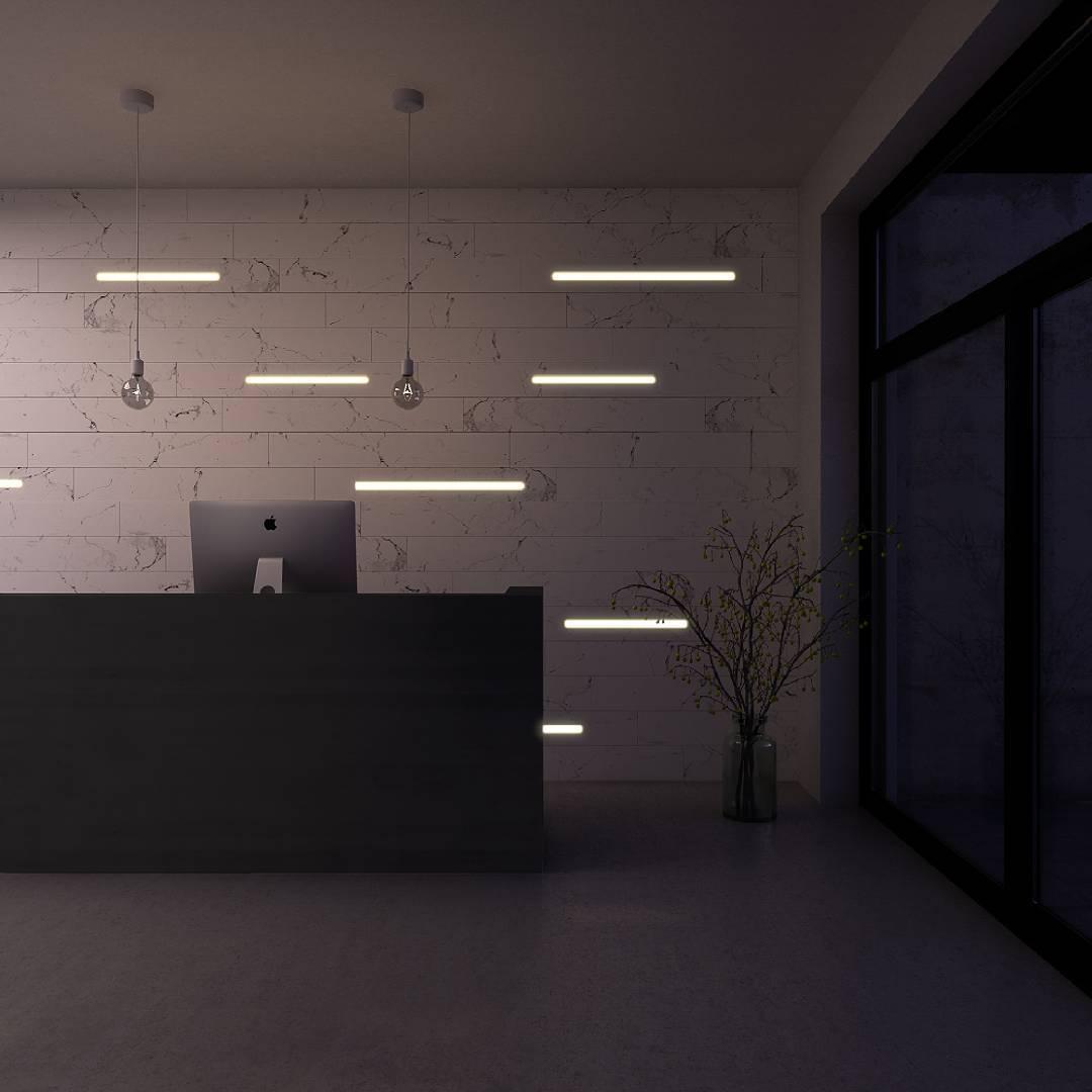 led illuminated walls u2022 led light wall led strip wall profile