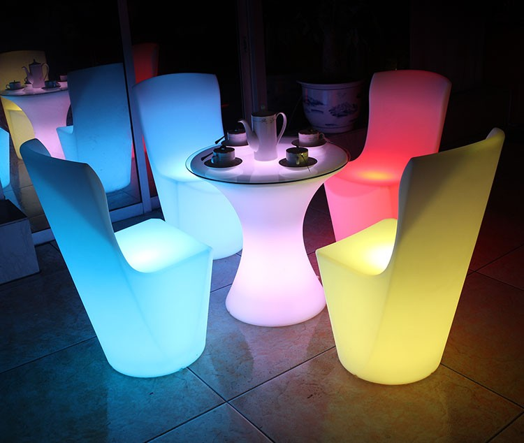 Led Furniture Set 187 Ball Cube Chair Table Sofa
