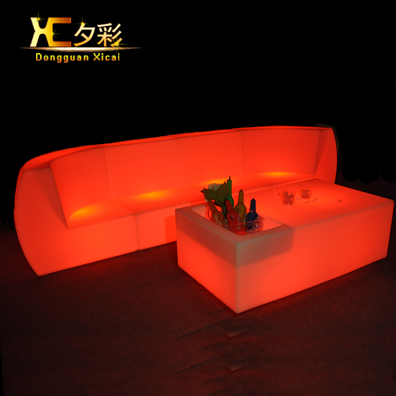 led furniture set ball cube chair table sofa. Black Bedroom Furniture Sets. Home Design Ideas