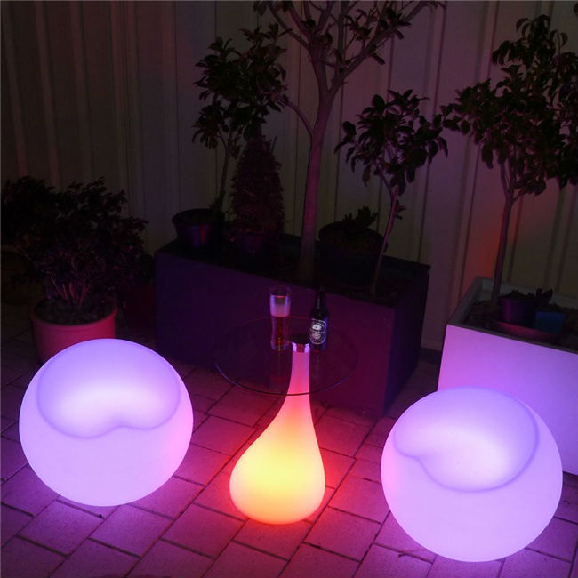 LED Furniture Chair Stool Apple - Led Furniture Set » Ball,Cube,Chair,Table,Sofa • AliExpress