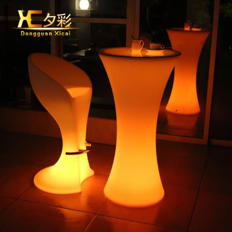 LED Lighting Furniture - LED Bar Table LED Bubble 04 - led luminous furniture ×  led sofa × led chair ×  led sofa furniture set