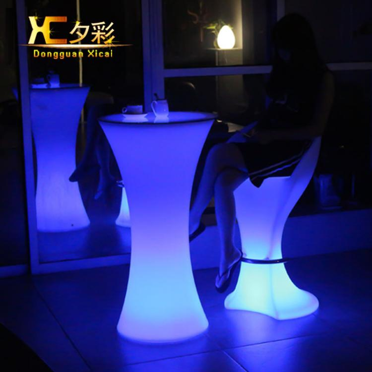 LED Lighting Furniture - LED Bar Table LED Bubble 05 - led chair ×  led sofa furniture set × luminous furniture ×  led tables × led glass led cup ×  led furniture