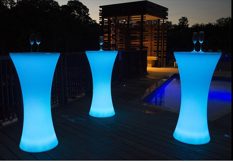 LED Lighting Furniture - LED Bar Table LED Bubble 07 - led ice bucket ×  led table light × led flower pot ×  led furnitrue set × led flower pots canada ×  led flower vase × led cube furniture ×  led chair bar stools