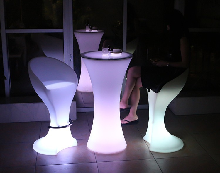 LED Lighting Furniture - LED Bar Table LED Bubble 08 - led flower pots uk × flower vase with led lights × led flower pot light ×  led cube × led luminous balloon × led furniture for home