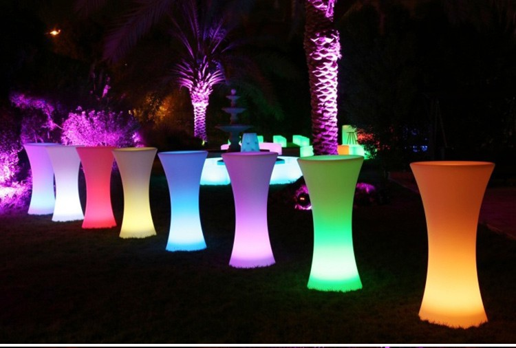 LED Lighting Furniture - LED Bar Table LED Bubble 09 - led light outdoor furniture × led wall unit furniture × led plastic outdoor furniture × led furniture wholesale ×  led flower pots