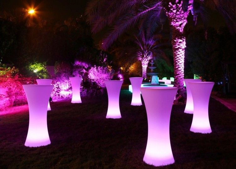 LED Lighting Furniture - LED Bar Table LED Bubble 10 - led light outdoor furniture × led wall unit furniture × led plastic outdoor furniture