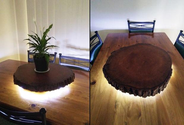 LED Wood Lamp U2022 Ideas, Design. Lamp Made Of Wood