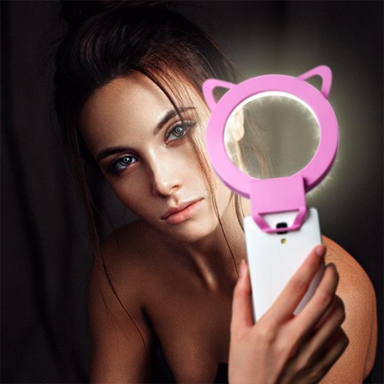 Lampa pierścieniowa selfie, oświetlenie dla wizażysty, lampy do makijażu - lampa do zdjęć makijażu ×  lampa selfie × lampa led do telefonu × lampa led do smartfona