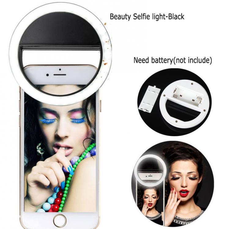LED RingLight - Selfie Flaş. Makyaj lambası.  ring flaşlar × harici telefon flaşı ×  video led ışık