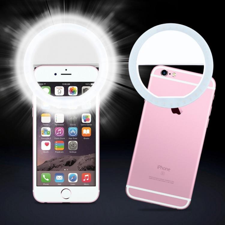 LED kruhové světlo. Selfie lampa pierścieniowa ring. osvětlení pro líčení, make-up 01