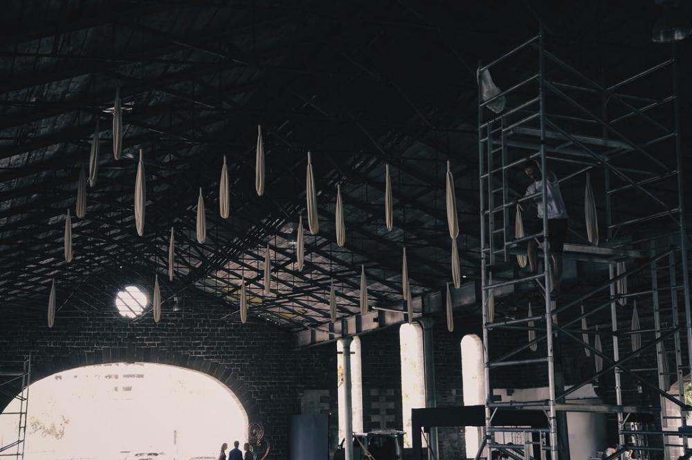 "Light installations ""INTERACTIVE PEOPLE"" - light installations art"