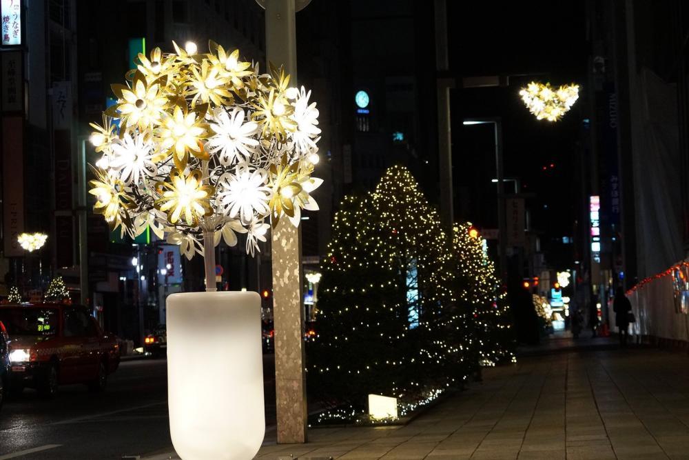 Christmas decoration - GARDEN OF LIGHT - garden of light ×  christmas decoration × artistic christmas decoration × light flowers