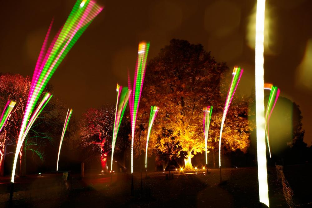 установки света искусства × установки искусства установки × LED Light × LED света современного объекта