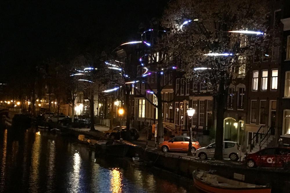 WISP - Amsterdam Light Festival 2016