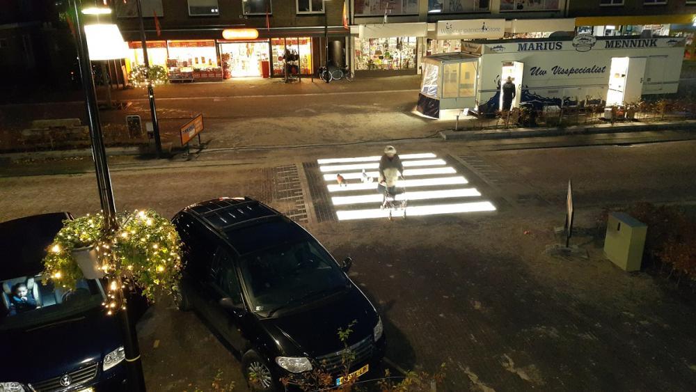 Lighted Zebra Crossing • Led Verlichting Zebrapad - led verlichting zebrapad