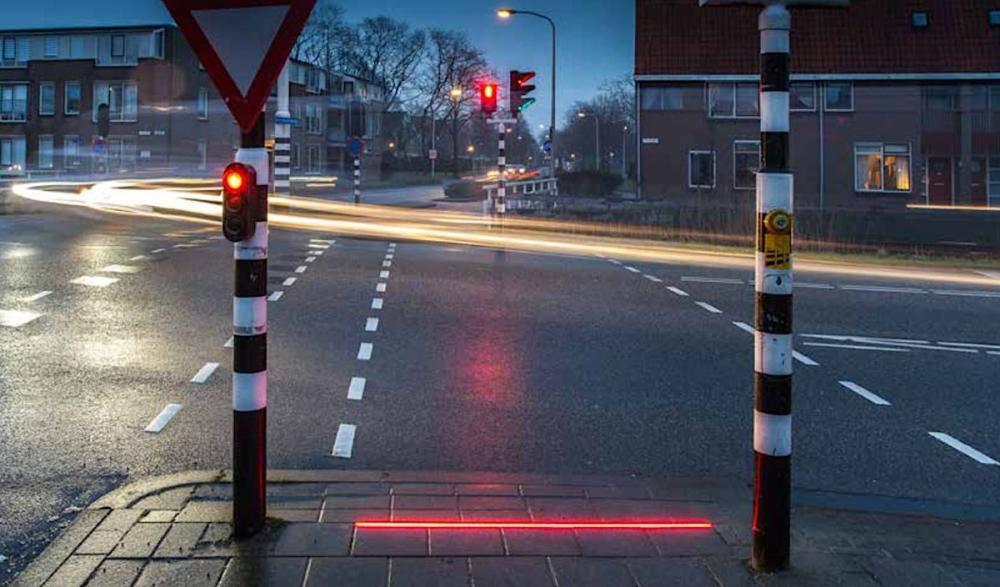 Lighted Zebra Crossing • Led Verlichting Zebrapad - led zebrapad