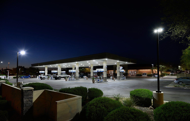 Petrol Station Lighting Design • LED Lighting for Petrol Station ...
