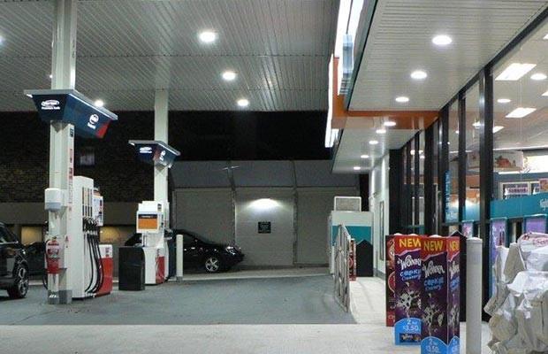 Petrol Station Lighting Design • LED Lighting for Petrol Station