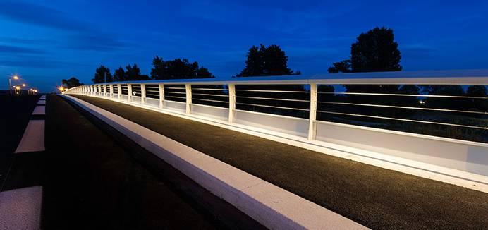 Bridge lighting, Cernay - Bridge Lighting Design | Projects | Fixtures