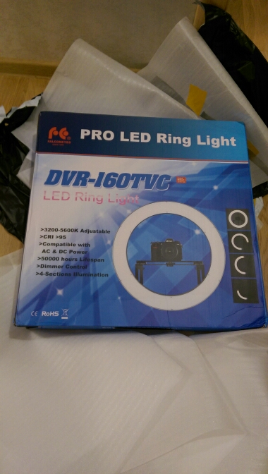 Professionales Ringlampe DVR-160TVC. LED Lamp Selfie - Ring Licht. Beauty Light Ring, Das Schminklicht - mini ringlight ×  beauty light for iphone × ringlicht für video ×  make up light ring × led rgb ringlicht ×  foto ringlicht led × ringlicht handy ×  ringlicht lampe × ringlicht kamera ×  ringlicht foto × selfie ring light iphone ×  ringlicht video