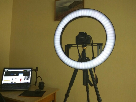 Professionales Ringlampe DVR-512DVC. LED Lamp Selfie - Ring Licht. Beauty Light Ring, Das Schminklicht - ringlicht handy ×  ringlicht lampe × ringlicht kamera ×  ringlicht foto × selfie ring light iphone ×  ringlicht video