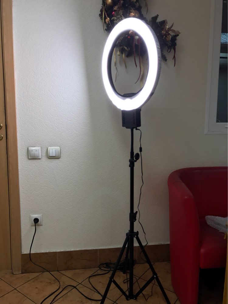 Makeup Ring And Lights: LED Lamp Ring Light. The Best Lighting For Photo,Video