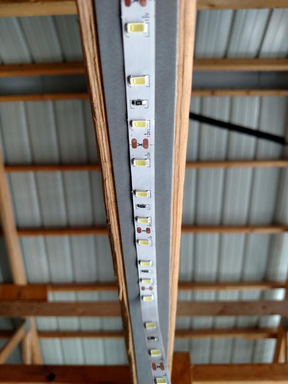 Освещение гаража светодиодной лентой - свет в гараже своими руками - купить освещение в гараж × светодиодное освещение в гараже своими руками × как сделать освещение в гараже своими руками