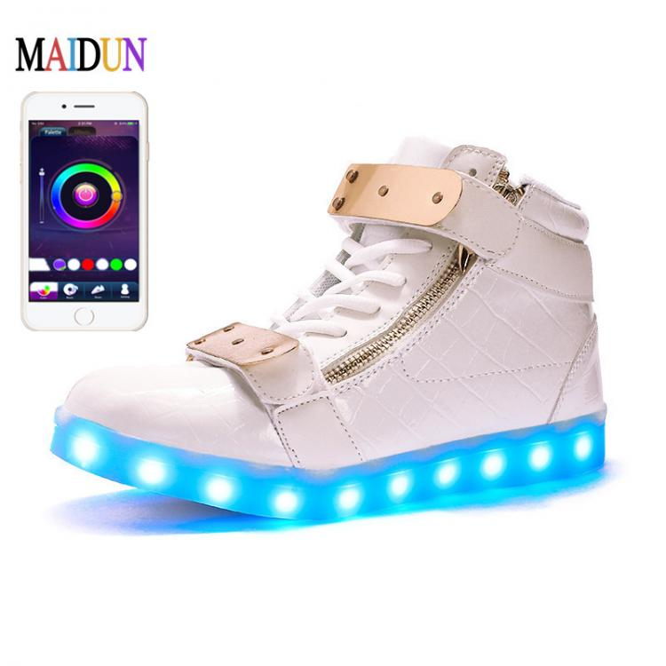 Kids Boys Girls Led Light Up Shoes - led shoes white ×  led shoes womens × led shoes wholesale usa