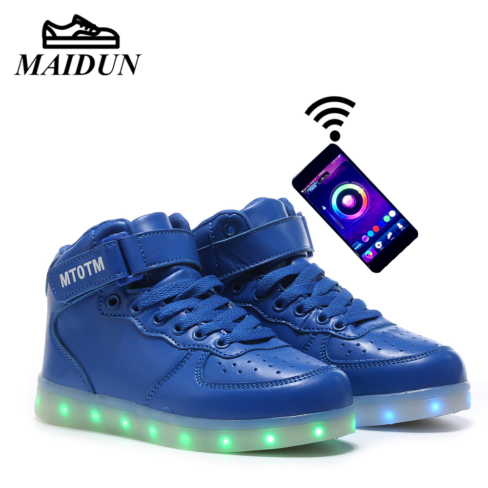 Rechargeable light up shoes for sale for Woman, Men & Kids! Available in various styles, colors, & sizes. Enjoy up to 6 hours of LED light action on one charge.
