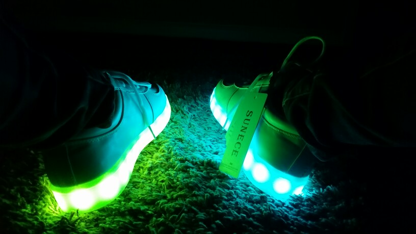LED Shoes For Kids - led shoes charger ×  led shoes colors