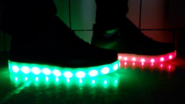 led shoes black 01