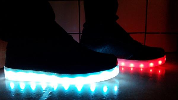 led shoes black 03