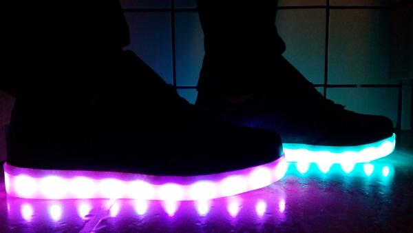 led shoes black 05