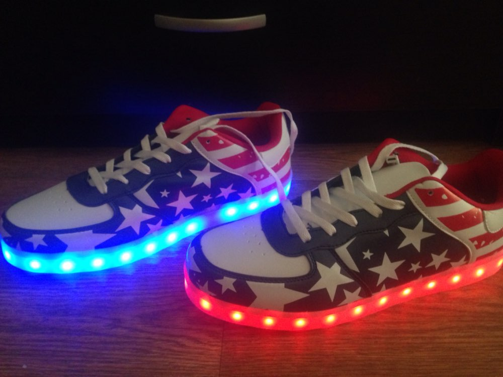 led shoes white ×  led shoes womens × led shoes 2018 RGB