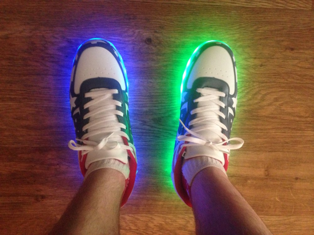 led shoes white ×  led shoes womens × led shoes 2018