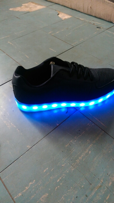 led shoes black. Mens or Womens LED Sneakers - Nike sneakers with LED lights in Men's, Women's 02