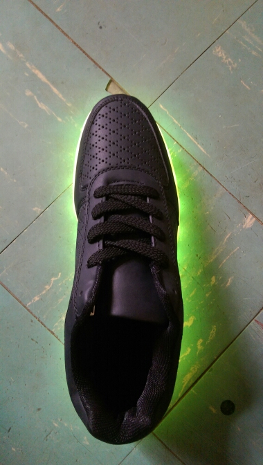 led shoes black. Mens or Womens LED Sneakers - Nike sneakers with LED lights in Men's, Women's 03