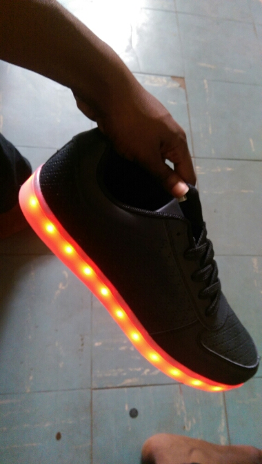 led shoes black. Mens or Womens LED Sneakers - Nike sneakers with LED lights in Men's, Women's 04