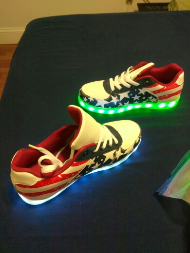 led shoes app - bluetooth