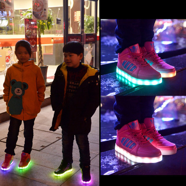 Chaussure lumineuse - LED Chaussures & Basket lumineuse × led chaussures