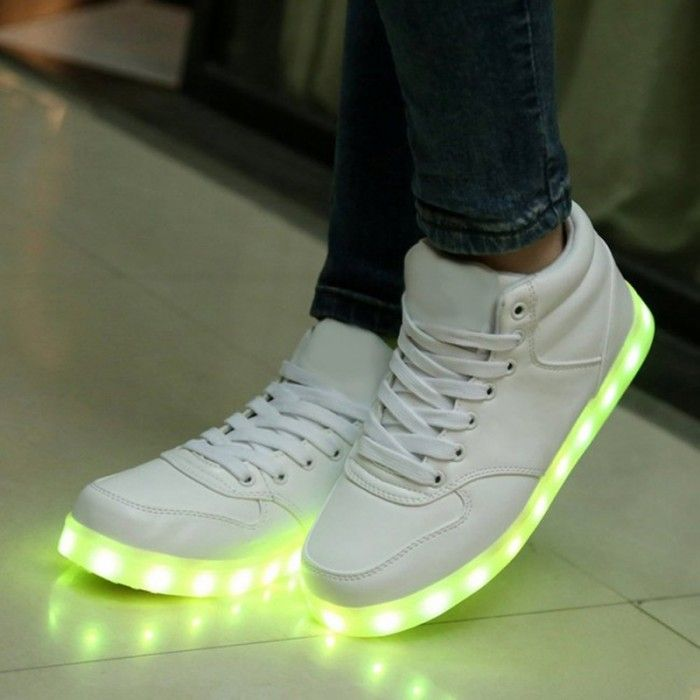 Chaussure lumineuse - LED Chaussures & Basket lumineuse. chaussures led homme