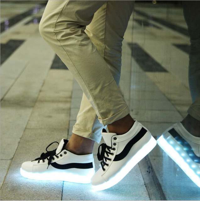 Chaussure lumineuse - LED Chaussures & Basket lumineuse. chaussure led france