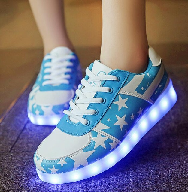 Chaussure lumineuse - LED Chaussures & Basket lumineuse. chaussure lumineuse led