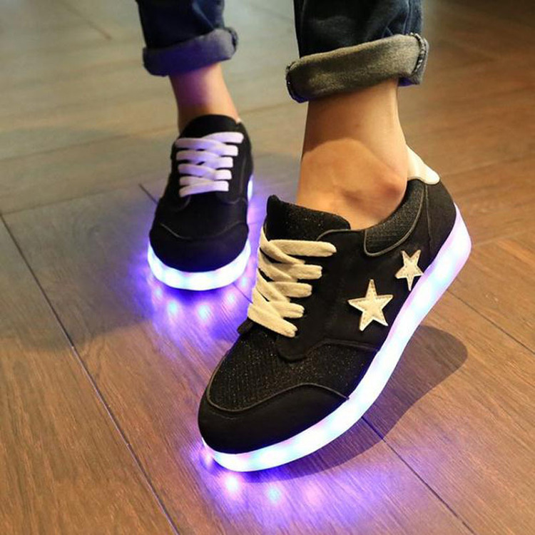 Chaussure lumineuse - LED Chaussures & Basket lumineuse. acheter basket lumineuse