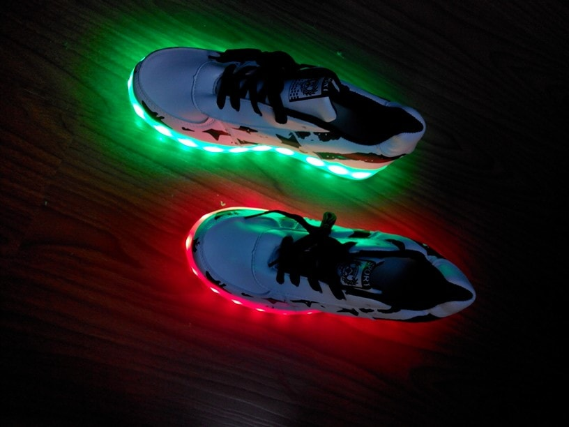 Chaussure lumineuse - LED Chaussures & Basket lumineuse - led chaussures ×  chaussure lumineuse × chaussures à roulettes fille